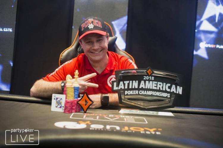 Gaúcho Amauri Grutka crava primeira etapa da história do LAPC/CardPlayer.com.br