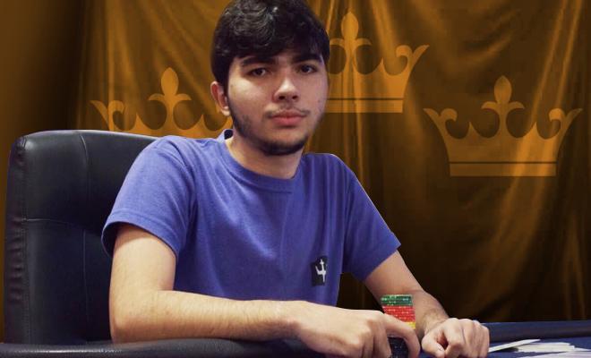 """Leonardo """"LeoMattosAK"""" Mattos leva a melhor no $215 Battle Royale/CardPlayer.com.br"""