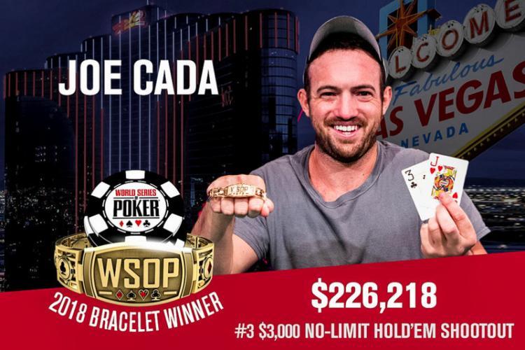 Joe Cada volta a vencer na WSOP/CardPlayer.com.br