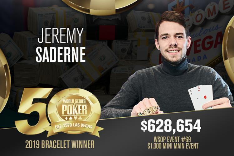 Jeremy Saderne crava Mini Main Event da WSOP/CardPlayer.com.br