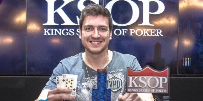 """Rodrigo """"SELOUAN1991"""" Selouan é campeão do $530 Bounty Builder High Roller/CardPlayer.com.br"""