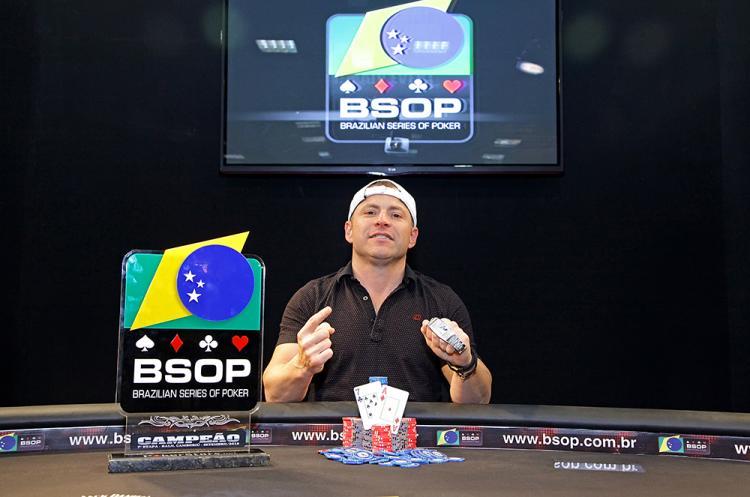Vinicius Pinheiro vence o BSOP Balneário Camboriú/CardPlayer.com.br