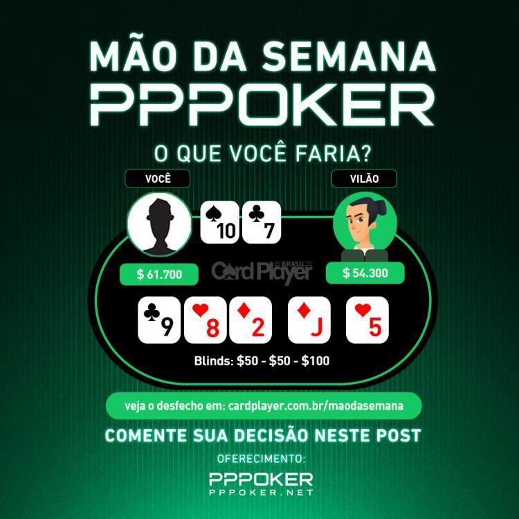 Mão da Semana - PPPoker/CardPlayer.com.br