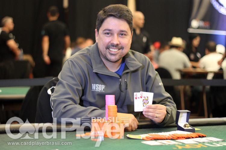 Em virada épica, Campeão de Spin&Go Milionário traz o primeiro anel do WSOPC Uruguai para o Brasil/CardPlayer.com.br