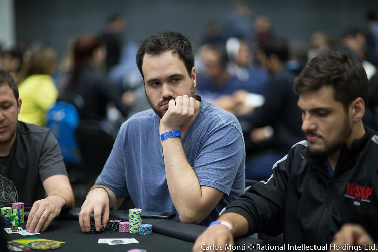 "Bernado ""bedias"" Dias cai na bolha da FT do Main Event High Rollers do PokerStars/CardPlayer.com.br"