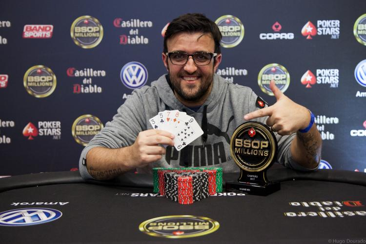 André Akkari vira heads-up e crava o 8-Game Mix do BSOP Millions/CardPlayer.com.br