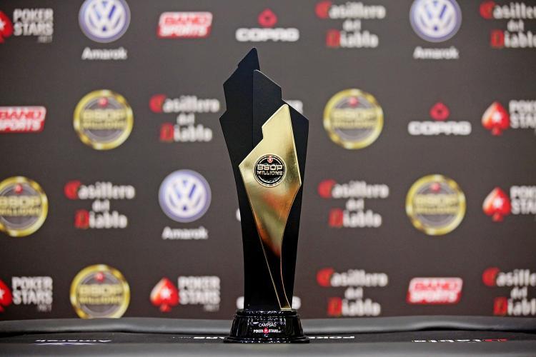 Main Event do BSOP Millions registra 2.807 entradas e bate premiação garantida /CardPlayer.com.br