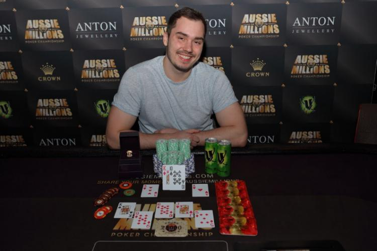 Anton Morgenstern crava High Roller de PLO do Aussie Millions/CardPlayer.com.br