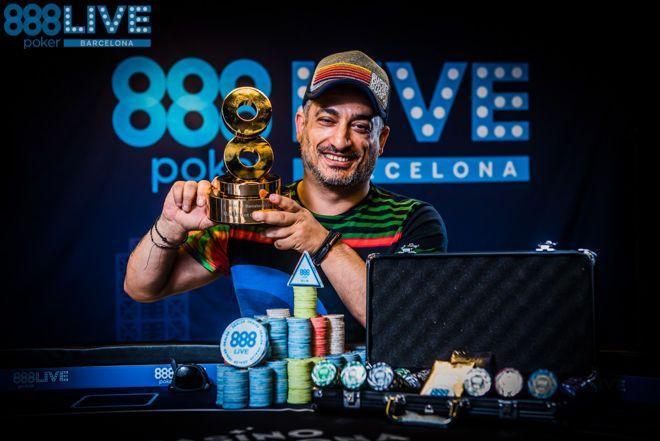Adrian Costin Constantin vence 888poker Live Barcelona/CardPlayer.com.br