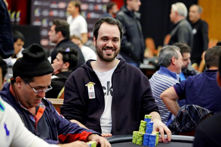 Bernardo Dias chega ao Dia Final de mais um torneio da WSOP/CardPlayer.com.br