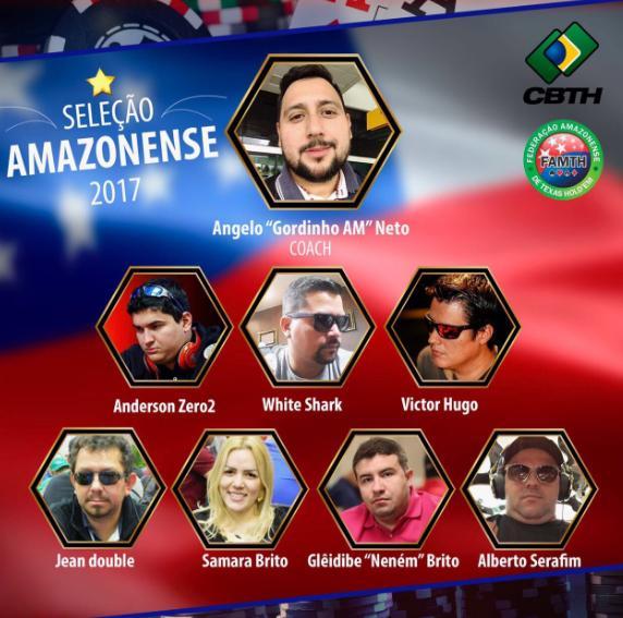 Amazonas divulga convocação para o Campeonato Brasileiro por Equipes/CardPlayer.com.br