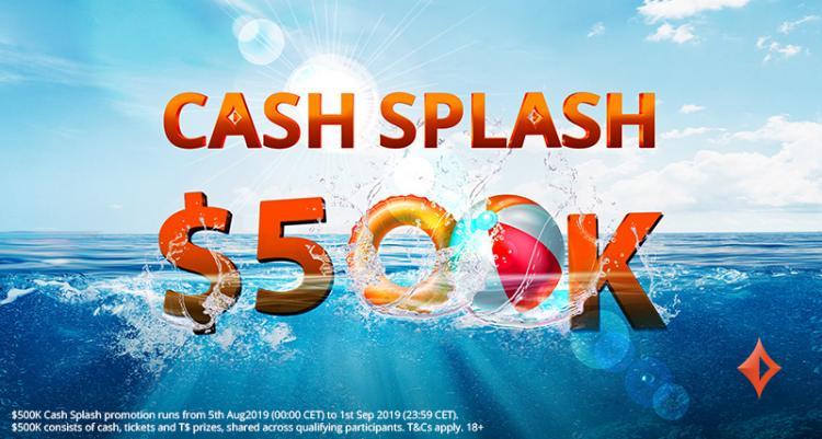 Conheça a Cash Splash, promoção do partypoker que vai distribuir US$ 500 mil/CardPlayer.com.br