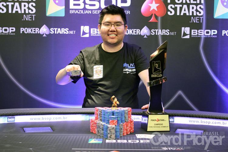 Rodolfo Tanaka conquista o título do BSOP100/CardPlayer.com.br