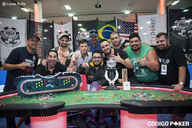 Andrew Zeus conquista o título do WSOP Circuit Brasil/CardPlayer.com.br