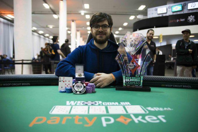 Thiago Crema leva a melhor no High Roller Big Diamond do WSOP Circuit Brasil/CardPlayer.com.br