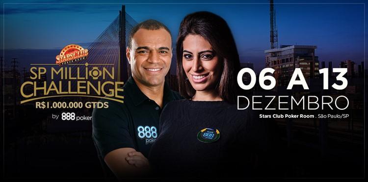 Etapa decisiva do SP Million Challenge começa nesta quarta-feira/CardPlayer.com.br