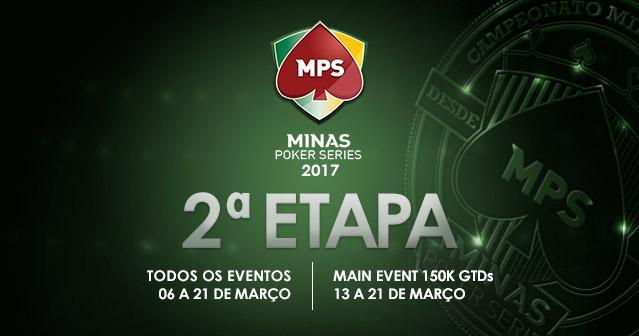 Segunda etapa da Minas Poker Series começa hoje/CardPlayer.com.br