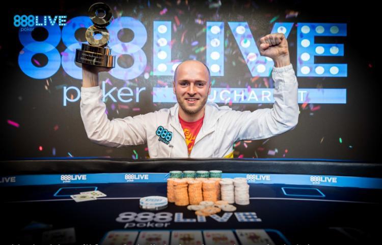 Andrei Racolta é campeão do 888Live Bucareste/CardPlayer.com.br