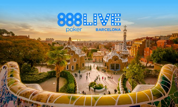 América Latina ganha satélites exclusivos para o 888Live Barcelona/CardPlayer.com.br