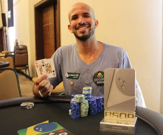 "Alexandre ""Cavalito"" Mantovani vence One-Day High Roller do BSOP Brasília/CardPlayer.com.br"