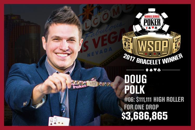 Doug Polk vence o High Roller for One Drop e embolsa US$ 3,6 milhões/CardPlayer.com.br