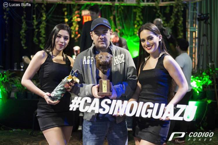 Alexandre Gomes conquista US$ 150 mil no Super High Roller do Cassino Iguazú/CardPlayer.com.br