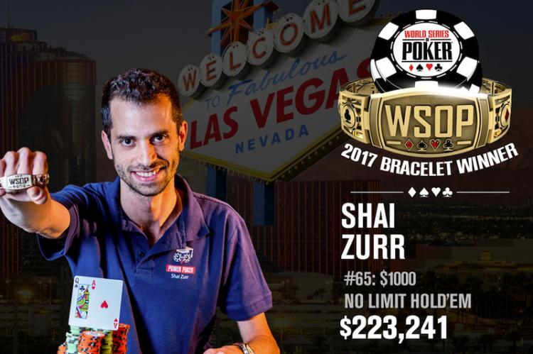 Shai Zurr leva a melhor no Evento 65 da WSOP/CardPlayer.com.br