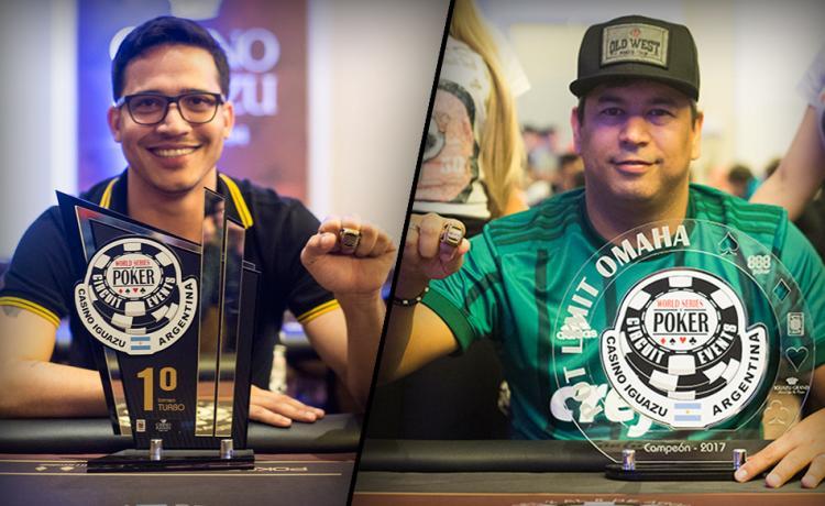João Barroso e Rogério Siqueira vencem no WSOP Circuit Argentina/CardPlayer.com.br