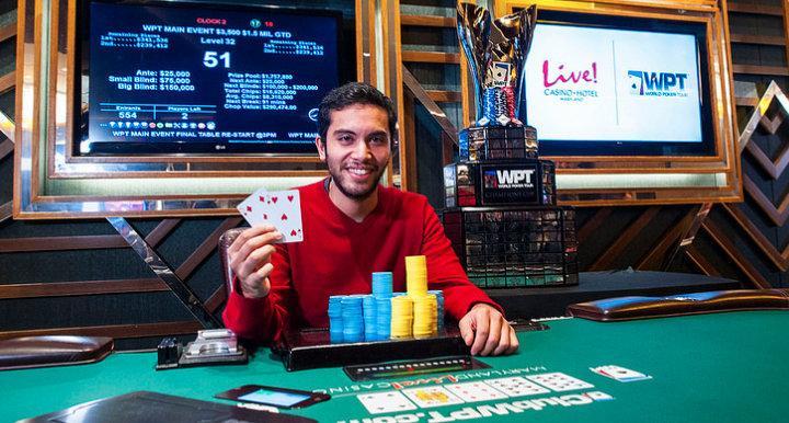 Ex-estudante de medicina vence o WPT Maryland/CardPlayer.com.br