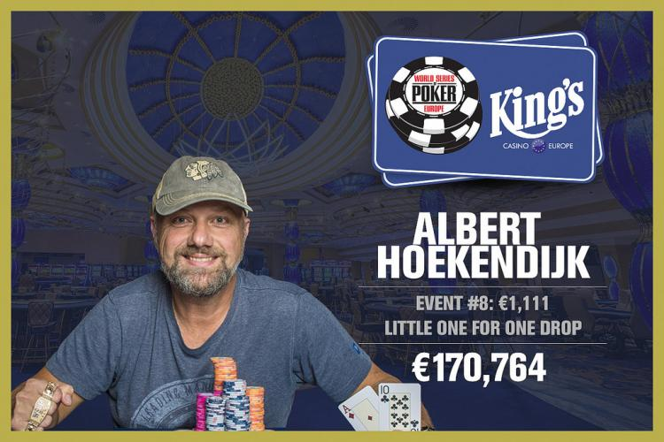 Albert Hoekendijk vence o Little One for One Drop da WSOP Europa/CardPlayer.com.br