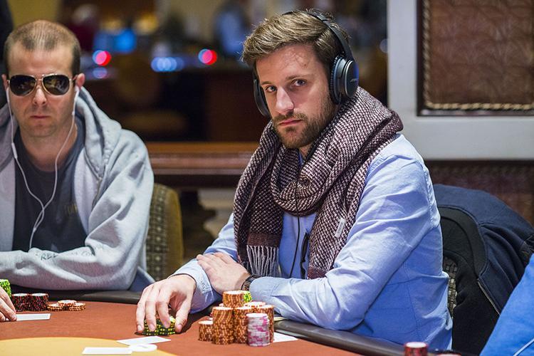 Robin Hegele larga na frente no WPT Five Diamond Classic /CardPlayer.com.br