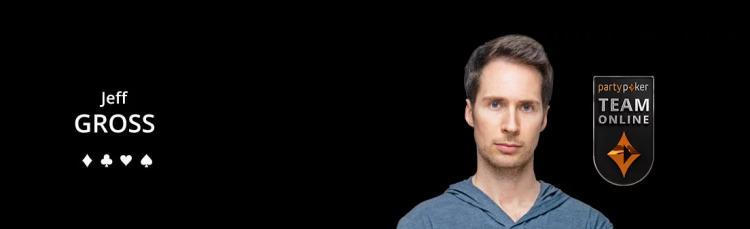 Jeff Gross reforça o Team Online do partypoker/CardPlayer.com.br