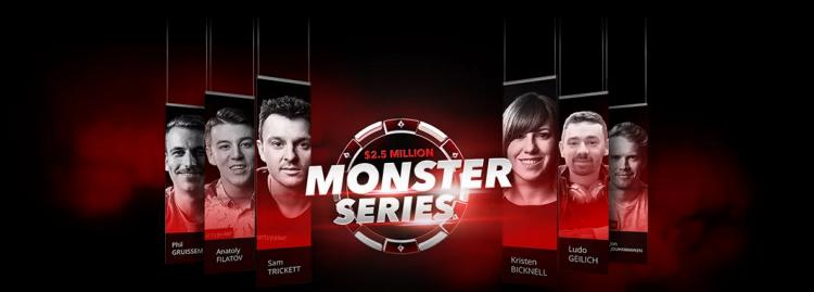 Monster Series do partypoker retorna neste domingo/CardPlayer.com.br