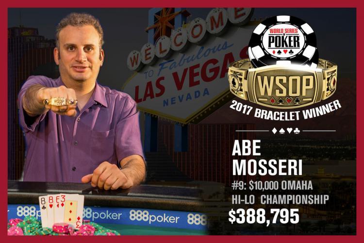 Abe Mosseri bate Daniel Negreanu e volta a vencer na WSOP/CardPlayer.com.br