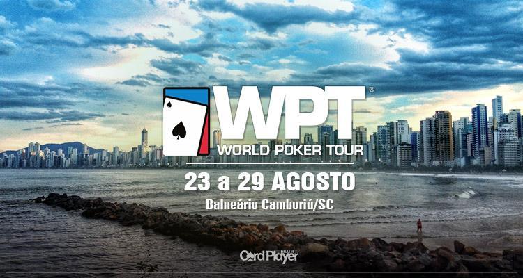 WPT anuncia evento milionário em Balneário Camboriú/CardPlayer.com.br