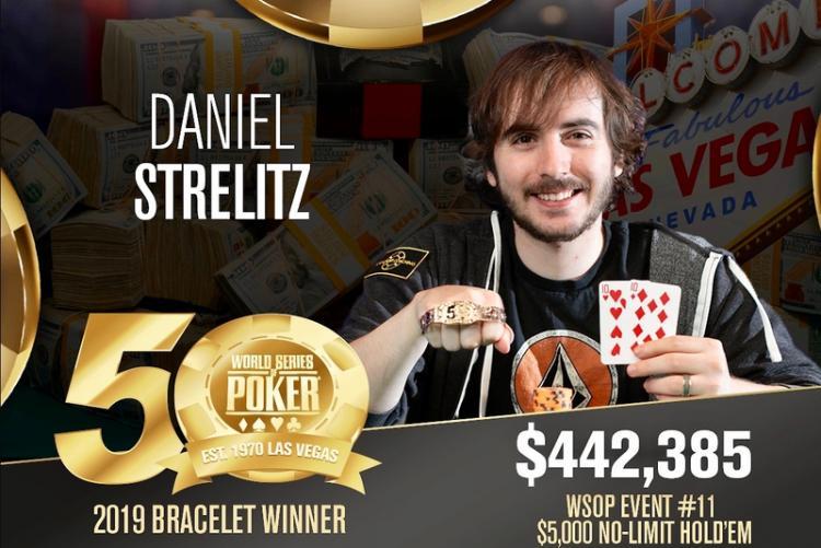 Daniel Strelitz leva a melhor no Evento 11 da WSOP/CardPlayer.com.br