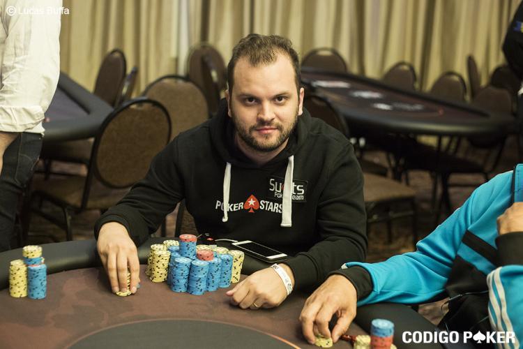 Saulo Sabione assume a ponta do Main Event do WSOP Circuit Argentina/CardPlayer.com.br
