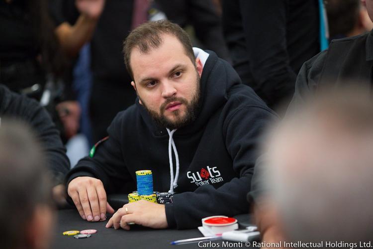 Saulo Sabioni segue na liderança do ranking do BSOP/CardPlayer.com.br