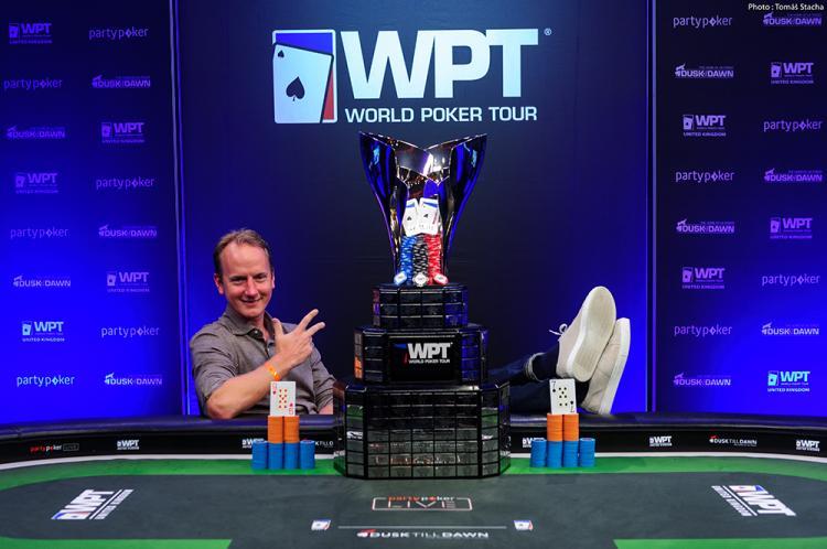 Simon Brändström conquista o título do WPT Reino Unido/CardPlayer.com.br
