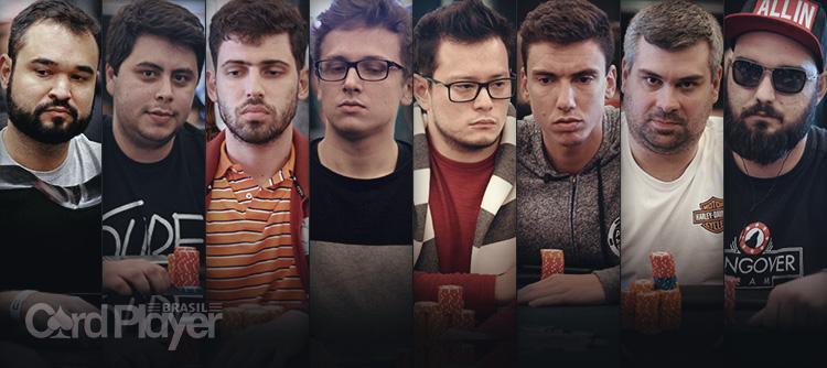 Brasil tem oito jogadores entre os 33 sobreviventes do Main Event do WSOPC Uruguai/CardPlayer.com.br