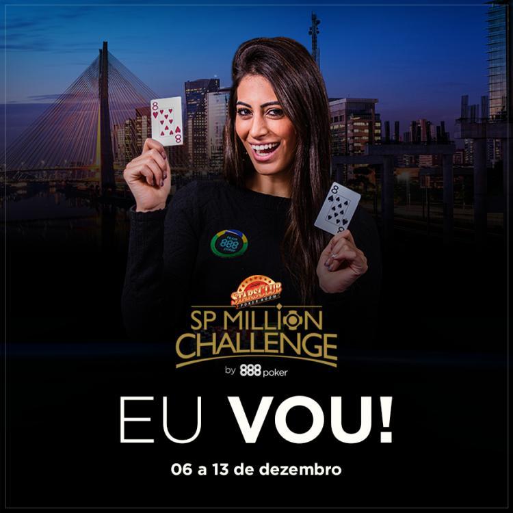 SP Million Challenge registra mais de 170 entradas na sua estreia/CardPlayer.com.br