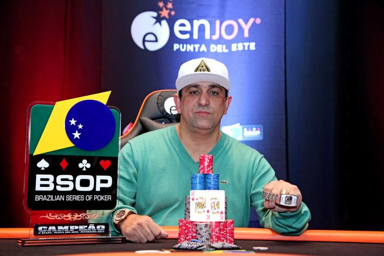 Marcelo Mesqueu leva a melhor no BSOP Punta del Este/CardPlayer.com.br