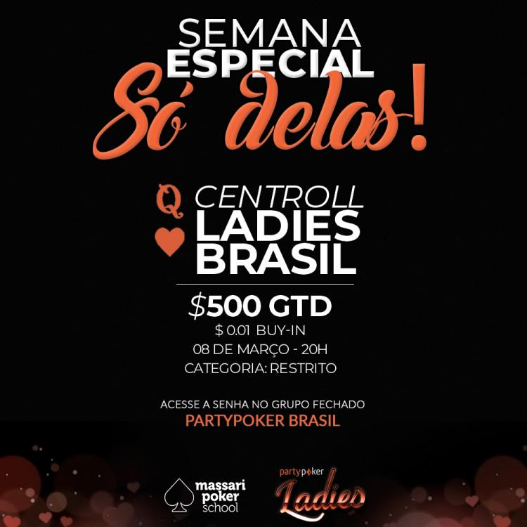 Massari Poker School realiza centroll no partypoker exclusivo para as mulheres/CardPlayer.com.br