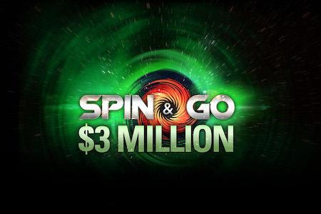 PokerStars lança Spin & Go de US$ 3 milhões/CardPlayer.com.br