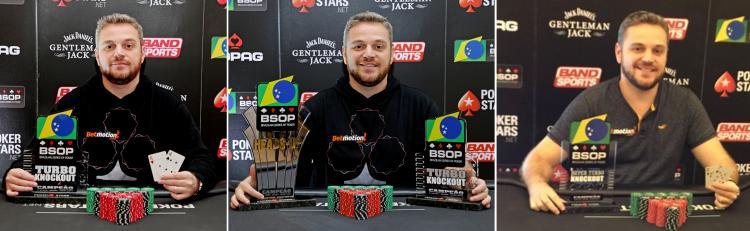 Rodrigo Garrido conquista três títulos no BSOP Recife/CardPlayer.com.br