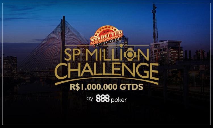 SP Million Challenge oferece R$1 milhão garantidos no Main Event a partir desta segunda/CardPlayer.com.br