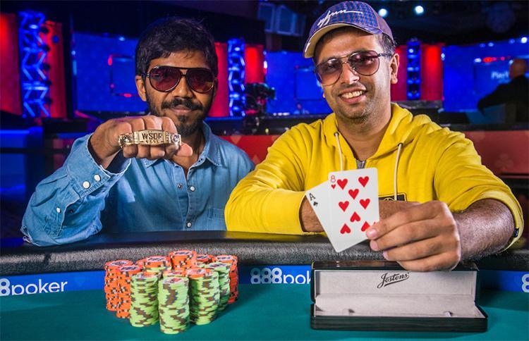 Dupla de indianos crava o último torneio por equipes da WSOP/CardPlayer.com.br