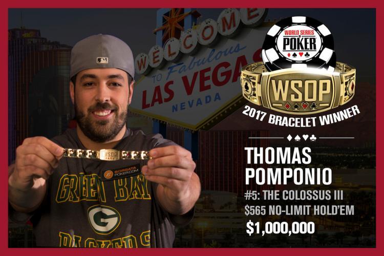 Thomas Pomponio conquista o título do Colossus III/CardPlayer.com.br