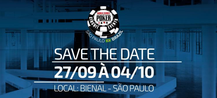 WSOP Circuit retorna ao Brasil em setembro/CardPlayer.com.br