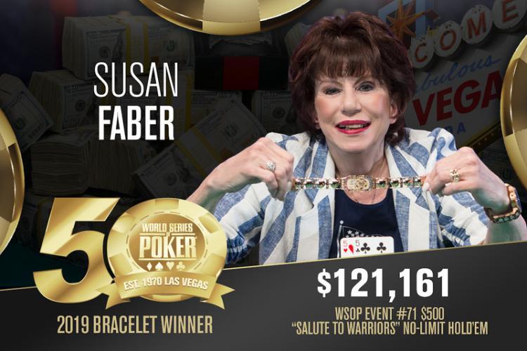 Susan Faber vence Evento 71 da WSOP/CardPlayer.com.br